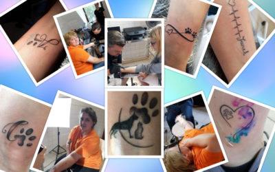 Die Harten Hunde – Tattoo-Aktionen