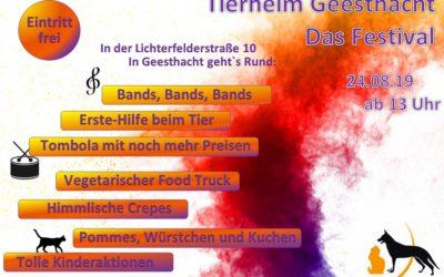 Tierheim-Festival 2019
